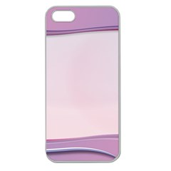 Background Image Greeting Card Heart Apple Seamless iPhone 5 Case (Clear)