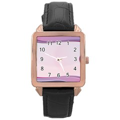 Background Image Greeting Card Heart Rose Gold Leather Watch