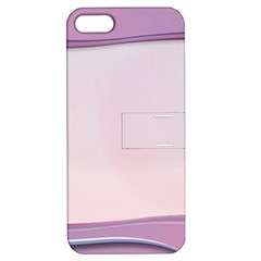 Background Image Greeting Card Heart Apple iPhone 5 Hardshell Case with Stand
