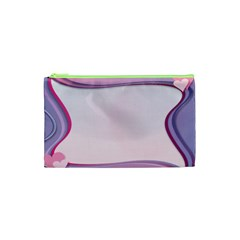 Background Image Greeting Card Heart Cosmetic Bag (xs)