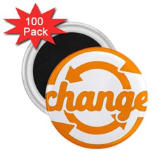 Think Switch Arrows Rethinking 2 25  Magnets (100 Pack)