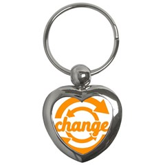 Think Switch Arrows Rethinking Key Chains (heart)