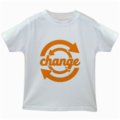 Think Switch Arrows Rethinking Kids White T-Shirts