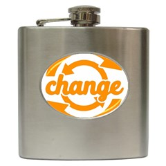 Think Switch Arrows Rethinking Hip Flask (6 oz)