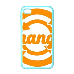 Think Switch Arrows Rethinking Apple iPhone 4 Case (Color)