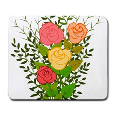 Roses Flowers Floral Flowery Large Mousepads