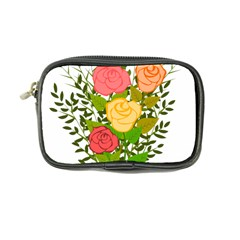 Roses Flowers Floral Flowery Coin Purse