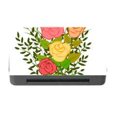 Roses Flowers Floral Flowery Memory Card Reader with CF