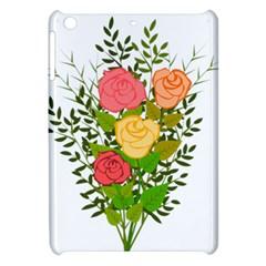 Roses Flowers Floral Flowery Apple Ipad Mini Hardshell Case