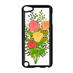 Roses Flowers Floral Flowery Apple iPod Touch 5 Case (Black)