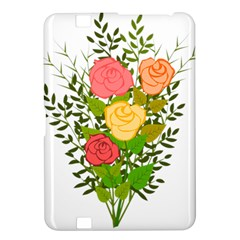 Roses Flowers Floral Flowery Kindle Fire HD 8.9