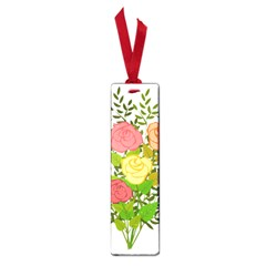 Roses Flowers Floral Flowery Small Book Marks