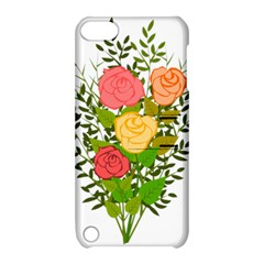 Roses Flowers Floral Flowery Apple Ipod Touch 5 Hardshell Case With Stand