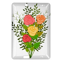 Roses Flowers Floral Flowery Amazon Kindle Fire Hd (2013) Hardshell Case