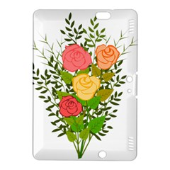Roses Flowers Floral Flowery Kindle Fire Hdx 8 9  Hardshell Case