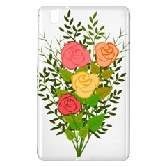 Roses Flowers Floral Flowery Samsung Galaxy Tab Pro 8 4 Hardshell Case