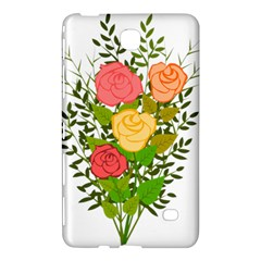 Roses Flowers Floral Flowery Samsung Galaxy Tab 4 (7 ) Hardshell Case