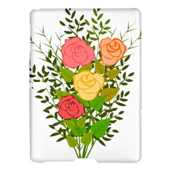 Roses Flowers Floral Flowery Samsung Galaxy Tab S (10 5 ) Hardshell Case