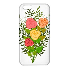 Roses Flowers Floral Flowery iPhone 6/6S TPU Case