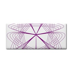Purple Spirograph Pattern Circle Geometric Cosmetic Storage Cases
