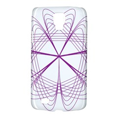 Purple Spirograph Pattern Circle Geometric Galaxy S4 Active