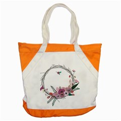 Flowers Twig Corolla Wreath Lease Accent Tote Bag