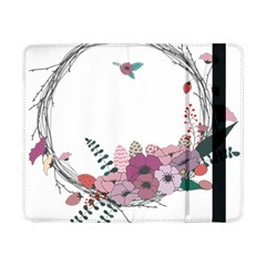 Flowers Twig Corolla Wreath Lease Samsung Galaxy Tab Pro 8 4  Flip Case