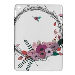 Flowers Twig Corolla Wreath Lease Ipad Air 2 Hardshell Cases