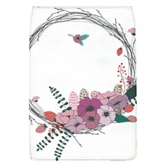 Flowers Twig Corolla Wreath Lease Flap Covers (l)