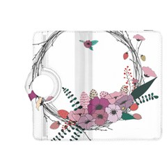 Flowers Twig Corolla Wreath Lease Kindle Fire Hdx 8 9  Flip 360 Case