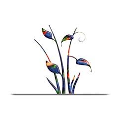 Flora Abstract Scrolls Batik Design Plate Mats