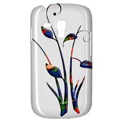 Flora Abstract Scrolls Batik Design Galaxy S3 Mini