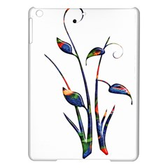 Flora Abstract Scrolls Batik Design Ipad Air Hardshell Cases