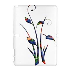 Flora Abstract Scrolls Batik Design Galaxy Note 1