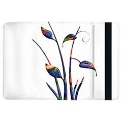 Flora Abstract Scrolls Batik Design Ipad Air 2 Flip