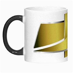 Logo Cross Golden Metal Glossy Morph Mugs