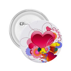 Heart Red Love Valentine S Day 2 25  Buttons