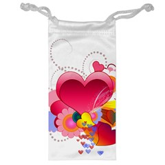 Heart Red Love Valentine S Day Jewelry Bag
