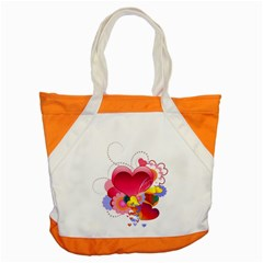 Heart Red Love Valentine S Day Accent Tote Bag
