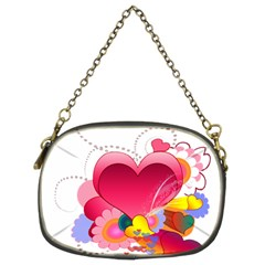 Heart Red Love Valentine S Day Chain Purses (Two Sides)