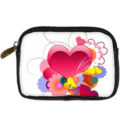 Heart Red Love Valentine S Day Digital Camera Cases