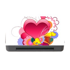 Heart Red Love Valentine S Day Memory Card Reader With Cf