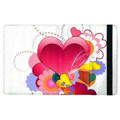 Heart Red Love Valentine S Day Apple Ipad 3/4 Flip Case