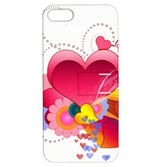 Heart Red Love Valentine S Day Apple Iphone 5 Hardshell Case With Stand