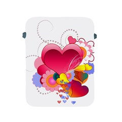 Heart Red Love Valentine S Day Apple Ipad 2/3/4 Protective Soft Cases
