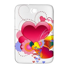 Heart Red Love Valentine S Day Samsung Galaxy Note 8 0 N5100 Hardshell Case