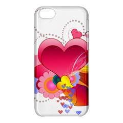 Heart Red Love Valentine S Day Apple Iphone 5c Hardshell Case