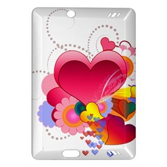 Heart Red Love Valentine S Day Amazon Kindle Fire Hd (2013) Hardshell Case