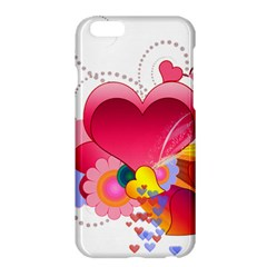Heart Red Love Valentine S Day Apple Iphone 6 Plus/6s Plus Hardshell Case
