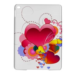 Heart Red Love Valentine S Day Ipad Air 2 Hardshell Cases